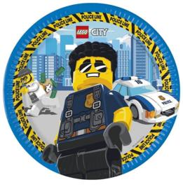 Lego City borden 8 stuks 23cm