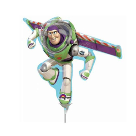 Toy Story Buzz folie ballon op stok
