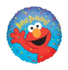 Elmo Happy Birthday folie ballon 45cm