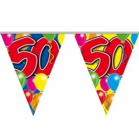 Vlaggenlijn slinger 50 jaar