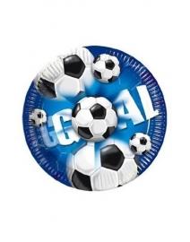 Borden voetbal goal 10 stuks