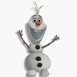 Frozen Olaf muur versiering 14x53cm