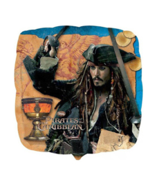 Pirates of the carribean folie ballon 45cm