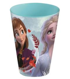 Frozen beker plastic herbruikbaar 430ml