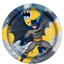 Batman borden 8 stuks 23cm