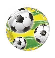 Voetbal borden 20cm 8 stuks