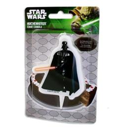 Star Wars Darth Vader taartkaars 10x6,5x1cm