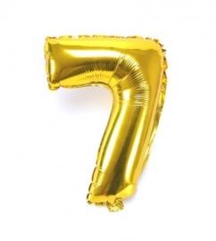 Folie ballon verjaardag 7 jaar