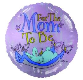 Voor de toekomstige moeder folie ballon 45cm
