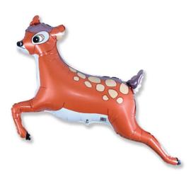 Bambi hert  folie ballon 70x90cm
