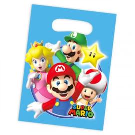 Super Mario feestzakjes 8 stuks