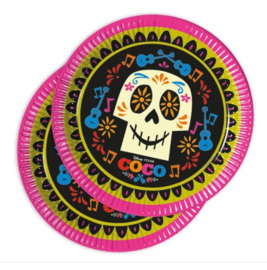 Coco borden 8 stuks 23cm