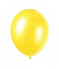 Ballonnen  geel 8 stuks