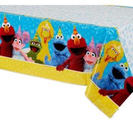 Sesamstraat tafelkleed plastic 137x243cm