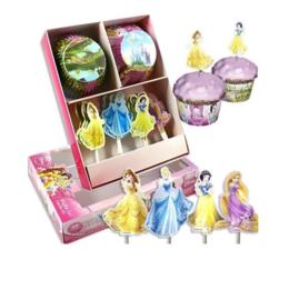 Prinsessen cupcake set