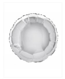 Folie ballon zilver