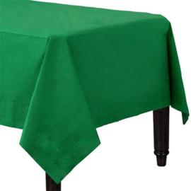 Tafelkleed groen papier 1,4x2,8m