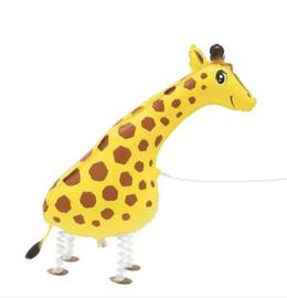 Giraf walking folie ballon 100cm