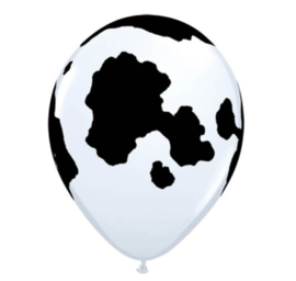 Boerderij koe ballonnen 5 stuks 28cm