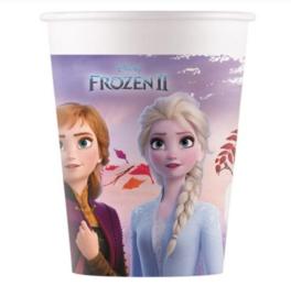 Frozen 2 bekers 8 stuks 200ml