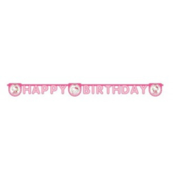 Hello Kitty letterslinger Happy Birthday