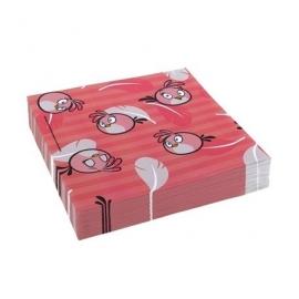 Servetten Angry Birds Pink 20 stuks
