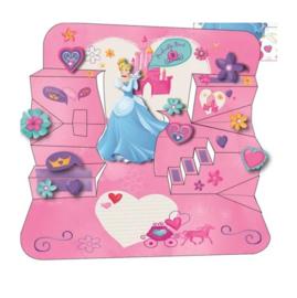 Disney Princess verjaardagskaart 11x17cm