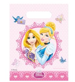 Prinsessen feestzakjes 6 stuks