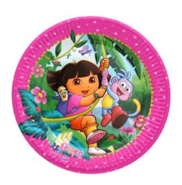 Dora the explorer  borden  8 stuks 23cm