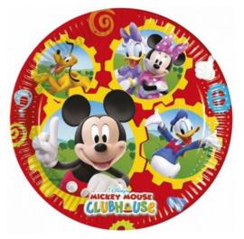 Mickey Mouse Donald Duck borden 8 stuks 19,5cm