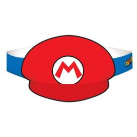 Super Mario feesthoedjes 8 stuks