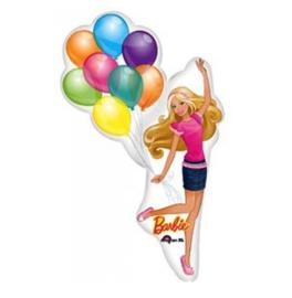 Barbie folie ballon 116cm