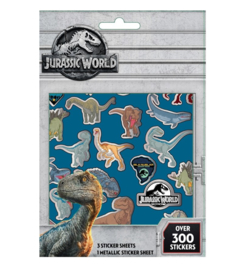 Jurassic World sticker vellen