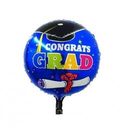 Folie ballon geslaagd diploma