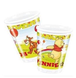 Winnie de Poeh bekers plastic 10 stuks 200ml