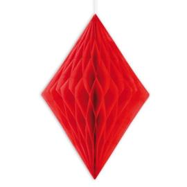 Honeycomb rood diamant 35cm