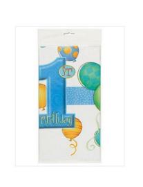 Tafelkleed jongen verjaardag 1 jaar