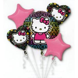 Hello Kitty folie ballonnen set 5 stuks