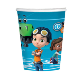 Rusty rivets bekers 8 stuks 266ml
