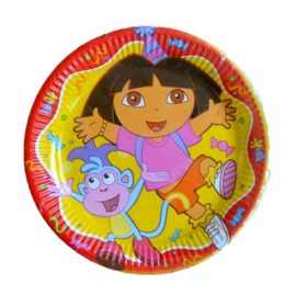 Dora the explorer borden 10 stuks