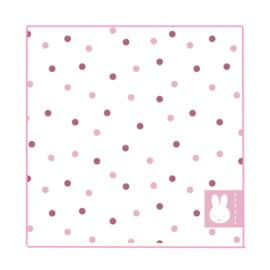 Nijntje servetten roze 20 stuks 25x25cm