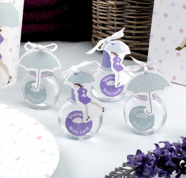 Baby Shower bellenblaas 6 stuks