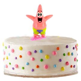 Spongebob Patrick taart versiering 6cm