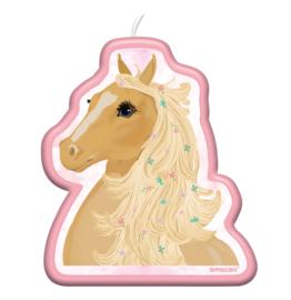 Paard taartkaars 6cm