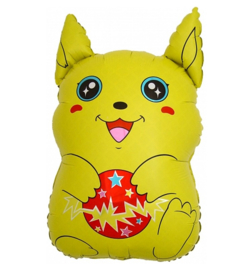 Pikache folie ballon 80cm