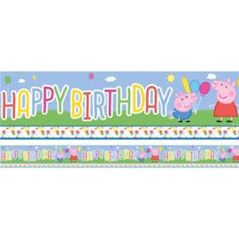 Peppa Pig banner 3,7m
