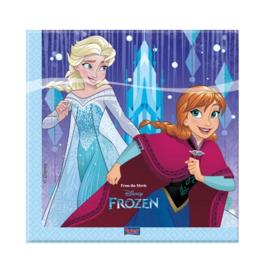 Frozen Snowflakes servetten 20 stuks
