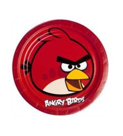 Angry Birds borden 8 stuks 23cm