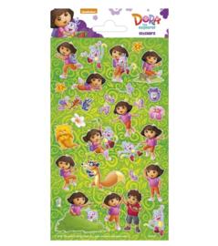 Dora stickervel 10x20cm