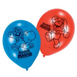 Super Mario ballonnen 4 stuks